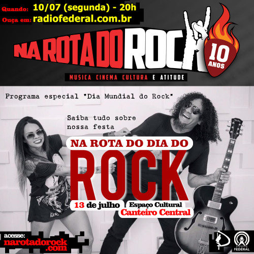 2017 07 10  flyer Dia Mundial do Rock