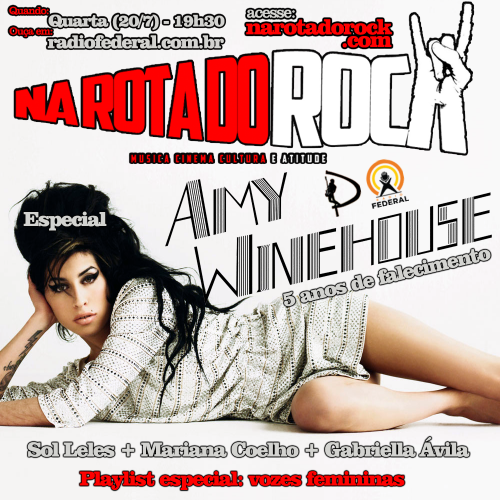 A Flyer especial Amy Winehouse