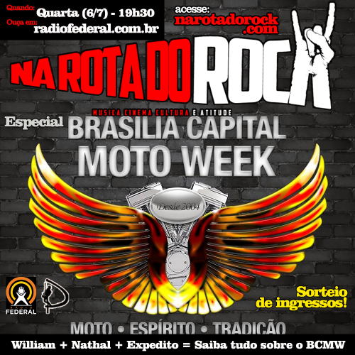 New flyer Brasilia Moto Capital Week