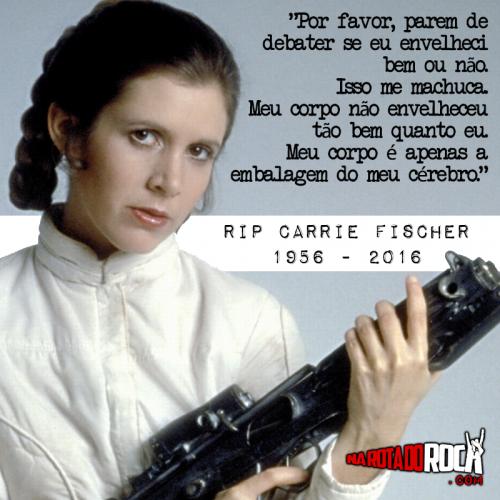 #Rip Carrie Fischer